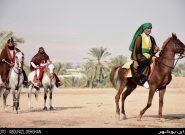 تعزیه روز عاشورای روستای صیدی جم