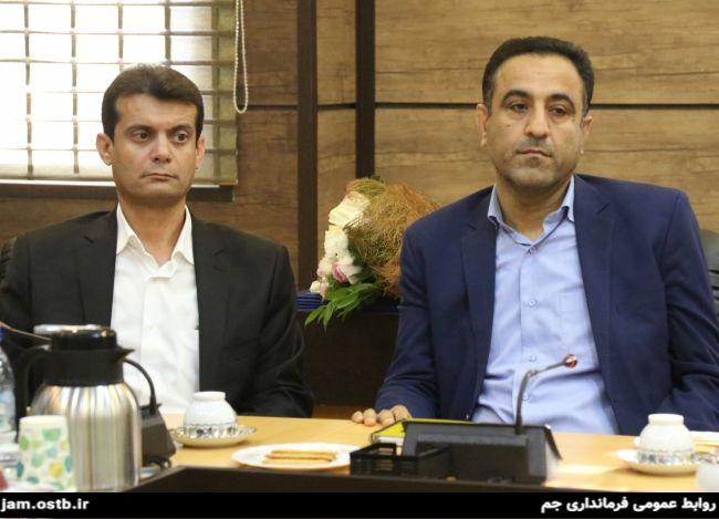 گزارش تصویری: معارفه معاونین سیاسی و عمرانی فرمانداری جم