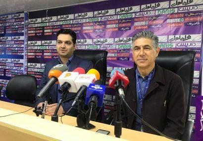 از تلاش بازیکنانم راضی هستم/ حفظ تمرکز یکی از بزرگترین مشکلات فوتبال ایران است