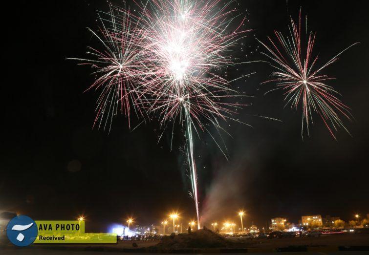 جشن پیروزی انقلاب در شهر جم