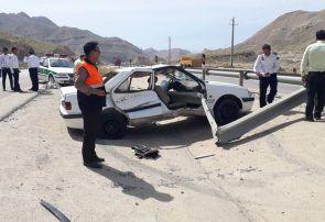تصادف در مسیر جم-سیراف ۴ کشته و زخمی بر جای گذاشت + تصویر