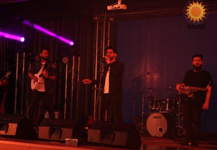 کنسرت سینا شعبانخانی در جم برگزار شد