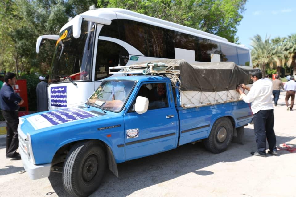 کاروان امداد و نجات منطقه ویژه پارس به مناطق سیل زده اعزام شد