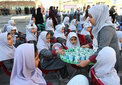 آغاز توزیع شیر رایگان در مدارس استان بوشهر