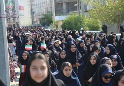 گزارش تصویری: راهپیمایی ۱۳ آبان ۹۸ در جم
