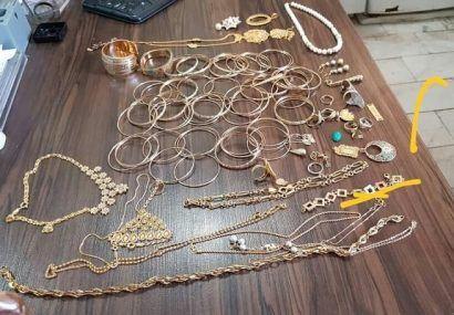 دستگیری ۱۳ باند سرقت طلاجات در استان/ ۲۰۰ فقره سرقت کشف شد