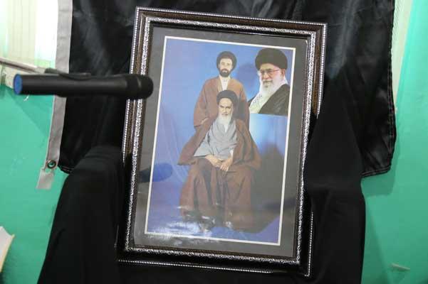 مراسم بزرگداشت سالگرد ارتحال امام خمینی(ره) در جم برگزار شد + گزارش تصویری