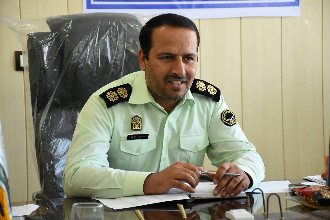 عامل اسید پاشی شهر جم دستگیر شد .