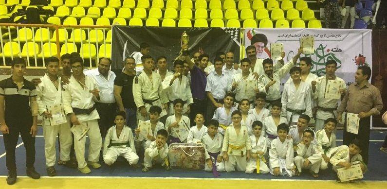 تیم جودو پارس جم،مقام سوم مسابقات را کسب کرد