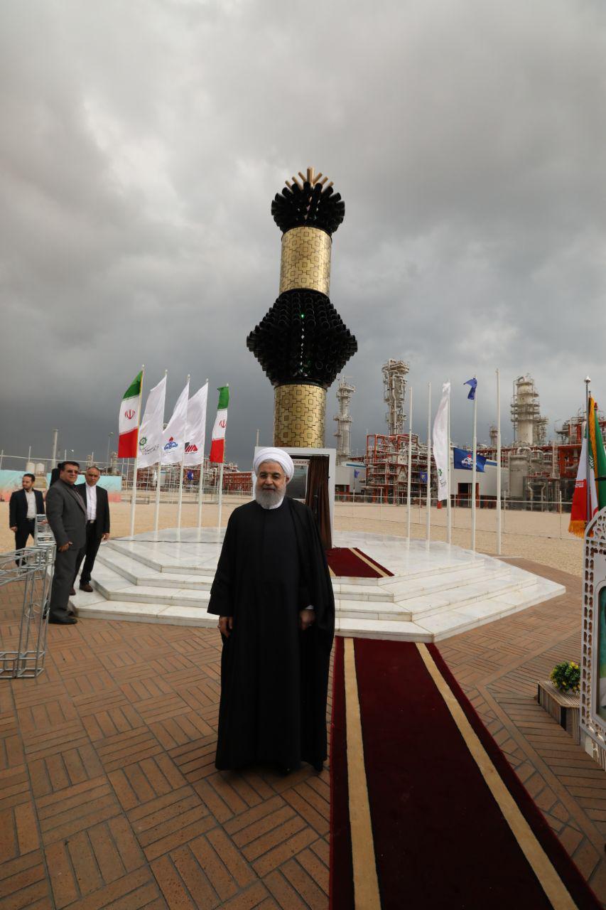 از افتتاح فازهای ۱۳و۲۲،۲۳،۲۴ پارس جنوبی تا افتتاح پروژه های عمرانی و اقتصادی استان بوشهر