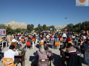 بعد از ظهر شطرنجی جم با حضور ۲۳۰ شطرنج باز در پارک کوهستان شهرک پردیس جم آغاز شد