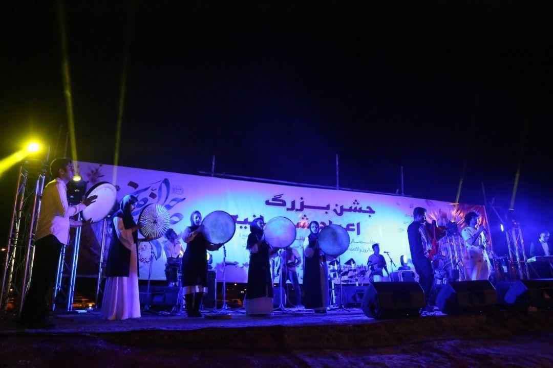 جشن نیمه شعبان در جم برگزار شد