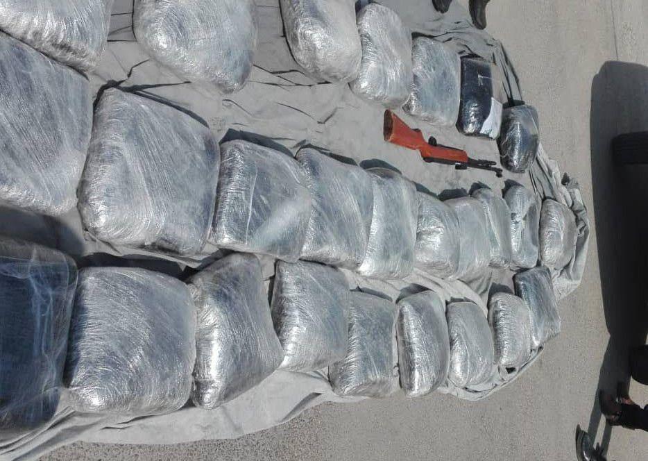 کشف ۳۱۰ کیلو تریاک بستهبندی در برازجان+تصاویر