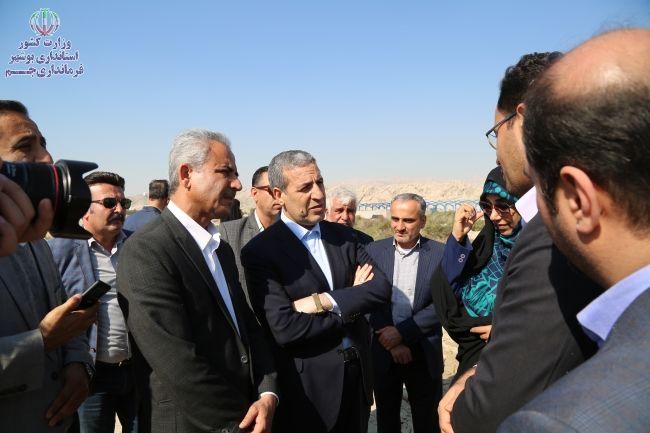 سفر استاندار بوشهر به جم؛ آنچه اتفاق افتاد