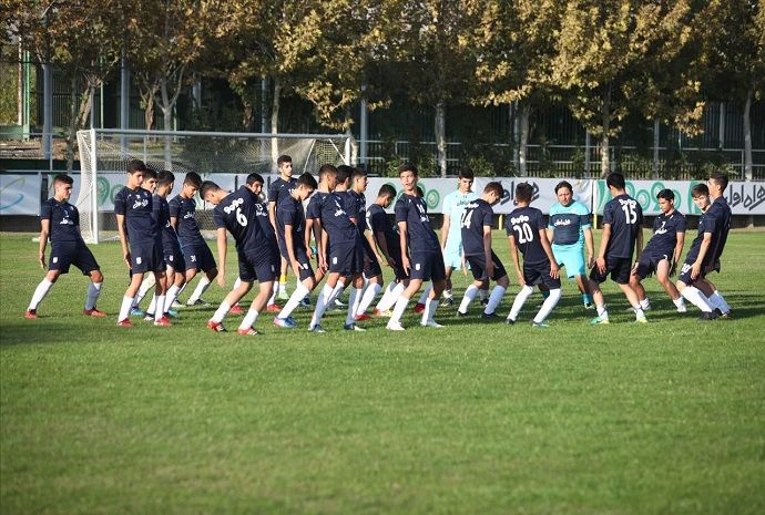 برگزاری اردوی تیم ملی زیر ۱۳ سال فوتبال ایران در جم
