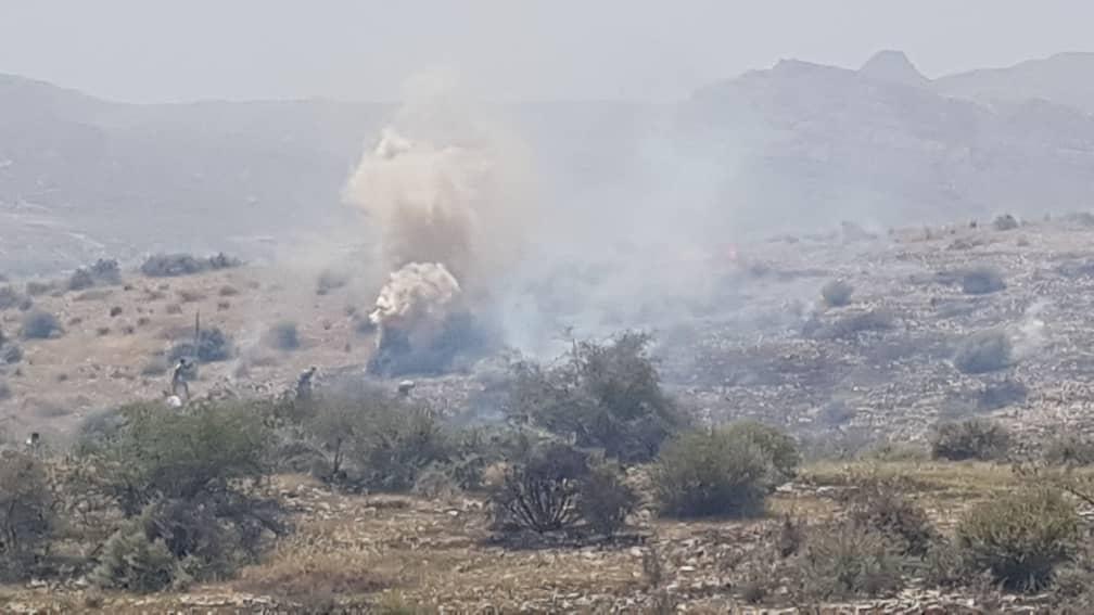 آتش سوزی گسترده در مراتع کوهپایه ای جم/آتش مهار شد+ فیلم