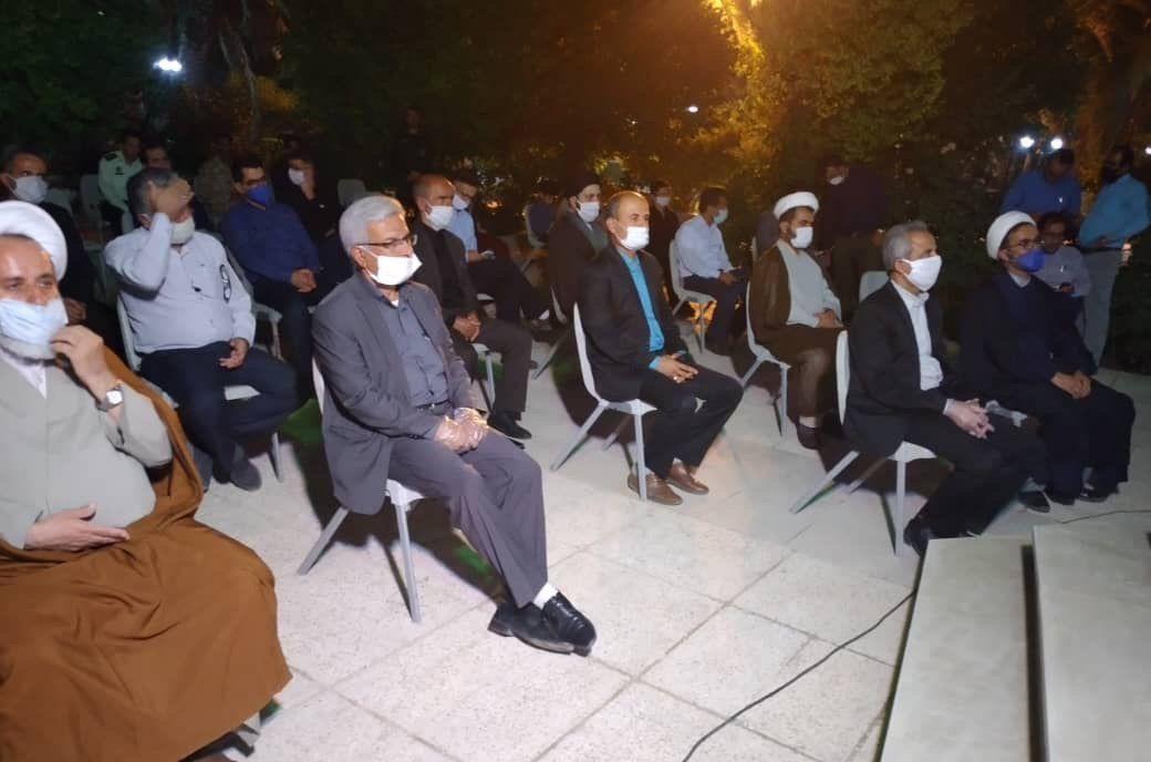 مراسم گرامیداشت ارتحال بنیانگذار انقلاب اسلامی در جم برگزار شد+تصاویر