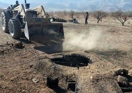 کاهش ۵۸ درصدی منابع آبی جم/دو چاه غیر مجاز پر شد/ شناسایی ۸۰۰ چاه غیر مجاز