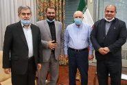 دیدار شیخ موسی احمدی با وزیر نفت لغو شد/عکس یادگاری نمایندگان آبادان و رئیس کمیسیون انرژی درآمد!
