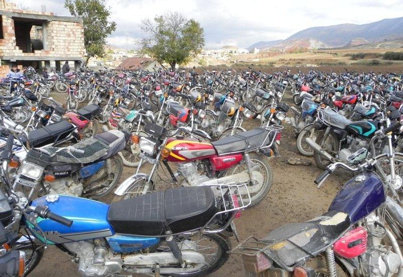 موتور سیکلت های رسوبی در پارکینگ ترخیص می شود+جزئیات