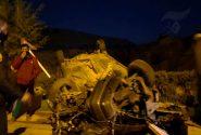 ۲ کشته و مصدوم بر اثر انحراف به چپ خودرو ۴۰۵ در شهر جم