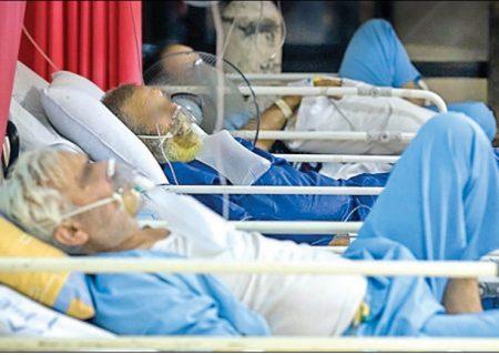 کرونا در بوشهر میتازد/ بستری بیماران در راهروهای بیمارستان