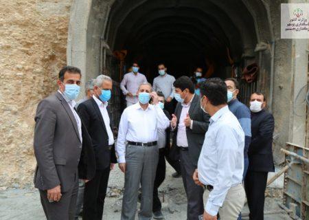 بازدید استاندار بوشهر از سد باغان+ تصاویر