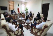 جلسه انتخاب اعضای هیات رئیسه شورای شهرستان جم برگزار شد