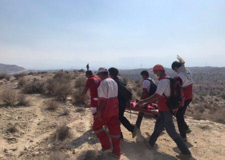 نجات چوپان افغان گرفتار در کوههای جم